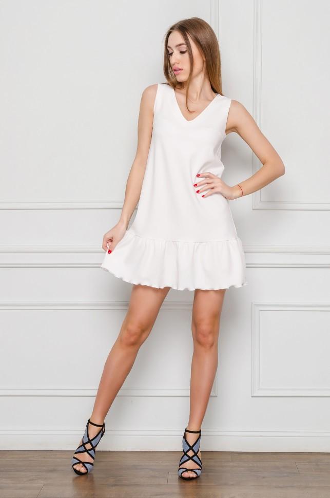 Белое Платье Без