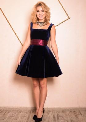 1c997a420095c24 Купить бархатное платье в Санкт-Петербурге. Интернет-магазин ателье ...