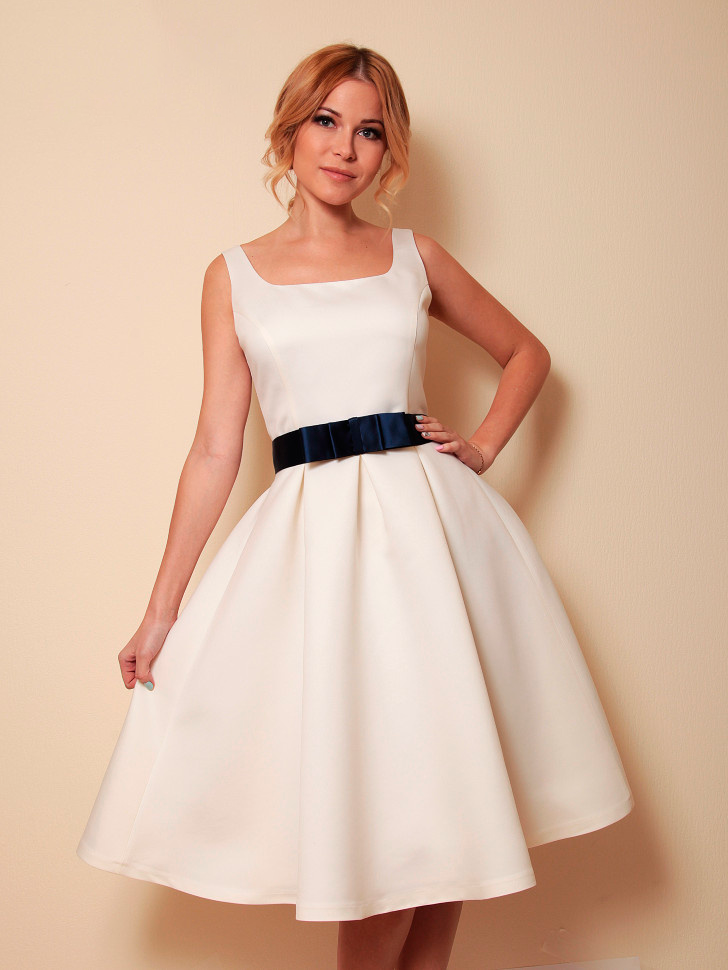 Короткие Атласные Свадебные Платья
